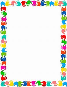 Frame clipart preschool - Pencil and in color frame