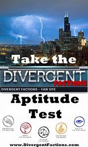 Divergent Factions - Divergent Factions - Book and Movie News