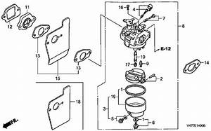 Gcv160 Carburetor Linkages Diagram