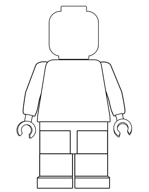 printable lego coloring pages paper trail design