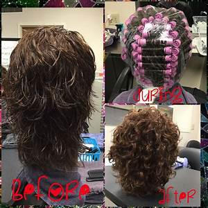 This Service Consisted Of A Permanent Wave Using Classic Body Perm Solution