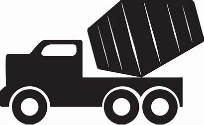 Mixer Truck Concrete Clipart Clip