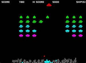 Old Computer Game Space Invaders