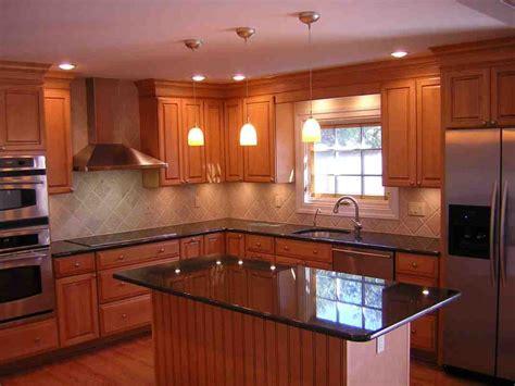 kitchen color schemes  oak cabinets decor ideasdecor