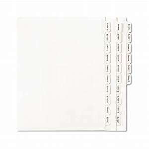 allstate style legal exhibit index dividers 25 tab With letter divider tabs