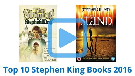 best stephen king books top 10 stephen king books of 2016 review