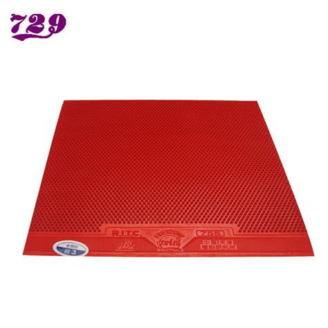 best chinese table tennis rubber original cheap table tennis rubber red color made in china