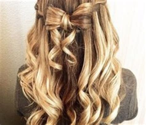 curly hair styles for homecoming blond hair image 2291521 by maria d on favim 9374