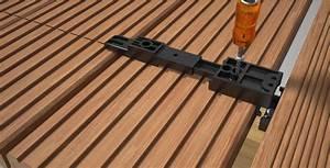 Batijournal fixation invisible de lames de terrasse for Fixation lame de terrasse composite