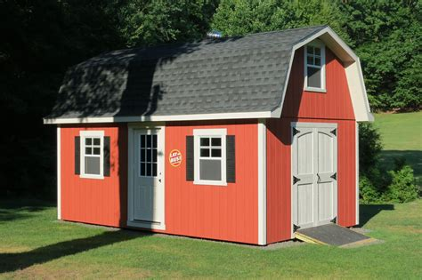 tall gambrel barn style sheds