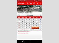 Philippines Calendar Android Apps on Google Play
