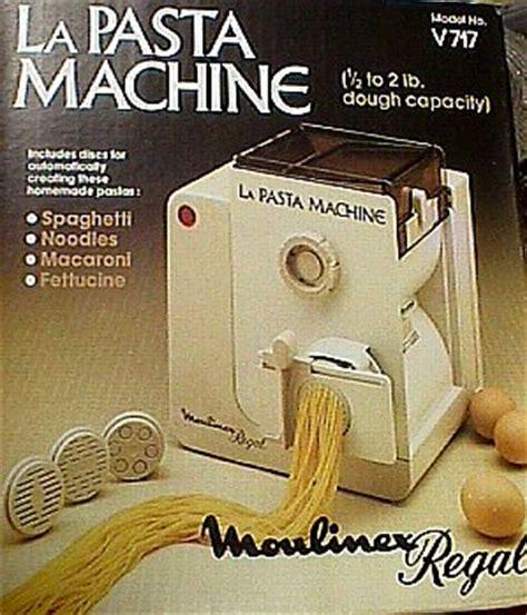 Moulinex Regal La Pasta Machine  Jack Berg Sales