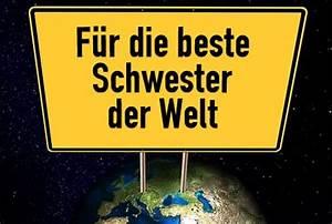 Beste Schwester Der Welt : schwester spr che ~ Frokenaadalensverden.com Haus und Dekorationen