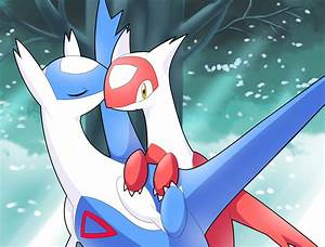 Latios Latias by Czyber on DeviantArt