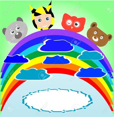 rainbow childrens animal clipart clipground