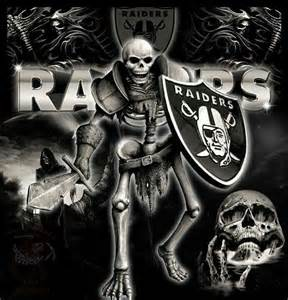 Oakland Raider Warrior