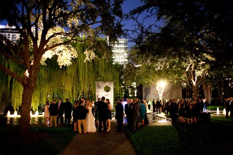 wedding center dallas wedding reception nasher sculpture center