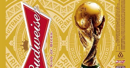 budweiser celebrates  fifa world cup soccer