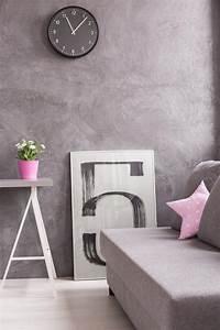 Haus Mit Dem Rosa Sofa : wohnzimmer einrichten in grau wei ~ Lizthompson.info Haus und Dekorationen