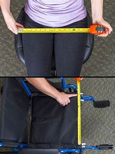 How To Measure For A Manual Wheelchair