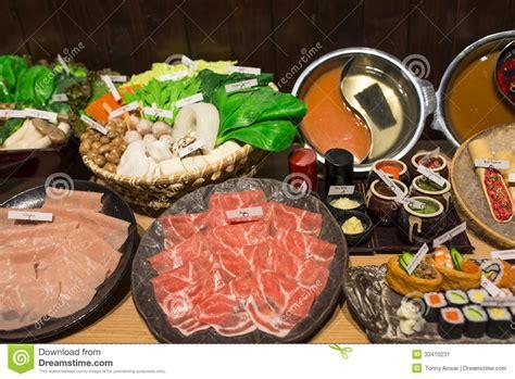 japanese shabu shabu stock image image of japanese
