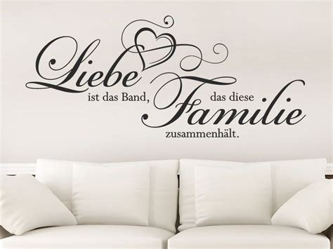 liebe ist das band dass diese familie wandtatoo vinilos und lazos