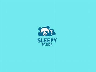 Panda Sleepy Cool Animated Dribbble Sleep Thought