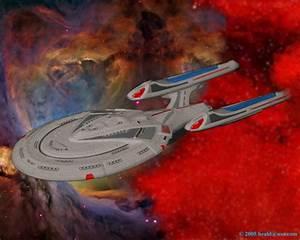 USS Enterprise C -- Classic Star Trek Ships Album 2
