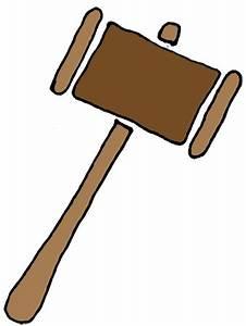 Gavel court mallet clipart clipart kid - Clipartix