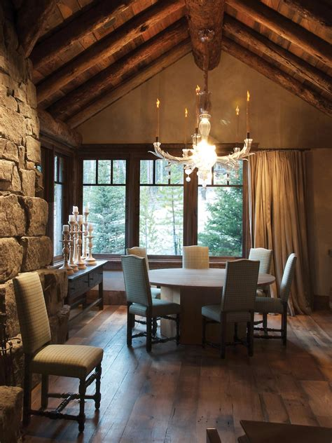 cozy cabin chic spaces  swooning  hgtvs