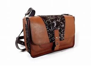 Sac Bandoulière Cuir Marron : sacs sac besace en cuir marron fauve kontrevent atelier du cuir ~ Melissatoandfro.com Idées de Décoration