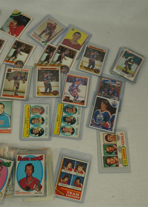 This card offers additional perks nhl fans will benefit from: Lot Detail - Collection of 150 Vintage Hockey Cards
