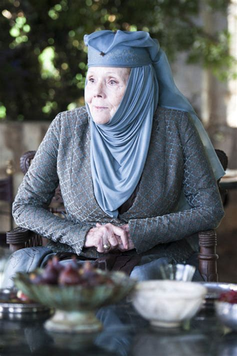 diana rigg performances lady olenna fans