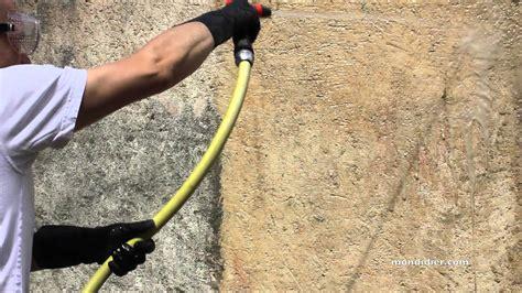 nettoyer un mur ext 233 rieur