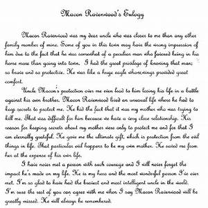 eulogy for a mother sample and eulogy examples With eulogy template for a friend