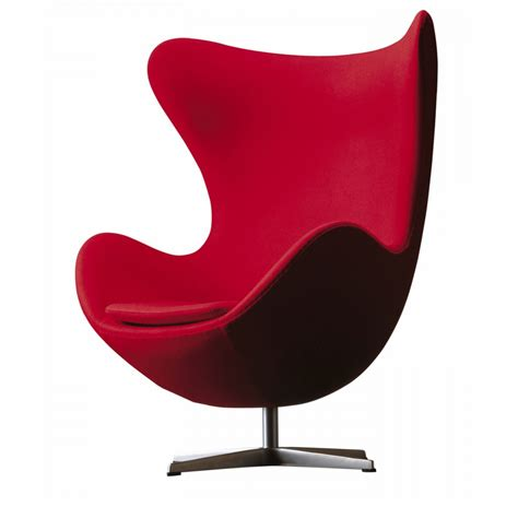 chaise oeuf fritz hansen egg chair by arne jacobsen aram