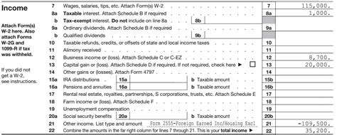 where to file form 1040 world of exle