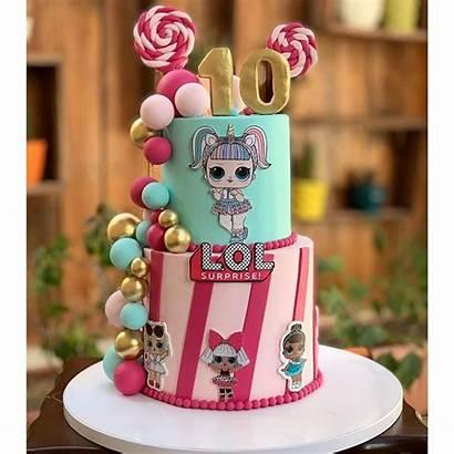 Lol Cake Doll Dolls Birthday Instagram Cakes