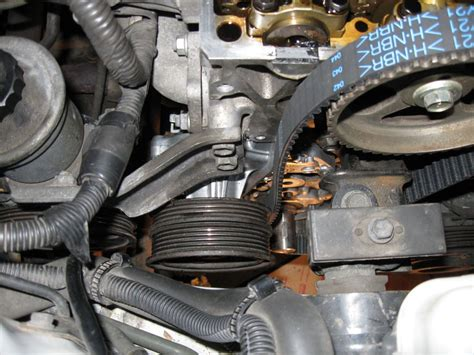 Diy Timing Belt Water Pump Replacement Corolla
