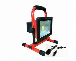 free shipping 20w portable rechargeable led flood light With brilliant portable outdoor led lighting kit