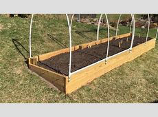 Raised Garden Bed + How to Make an EasyAccess Cover YouTube