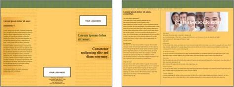 brochure templates  microsoft word