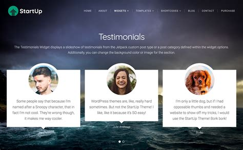 Add A Testimonials Section To A Wordpress Page
