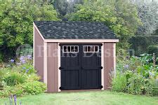 shed plans    backyard storage lean  roof style