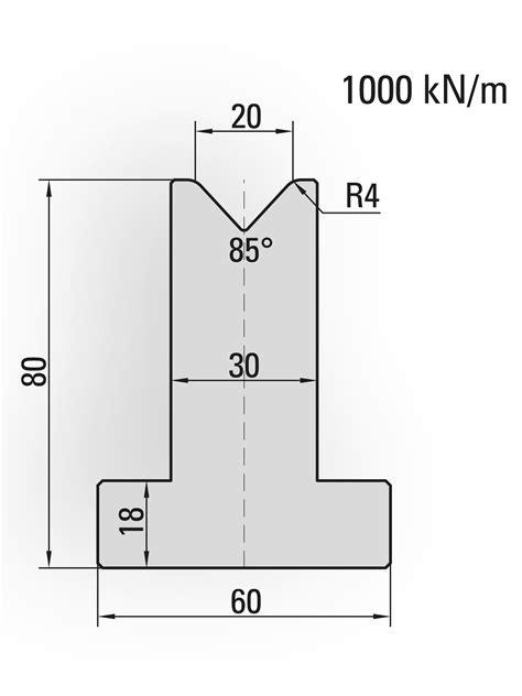 20.520 Press brake tool - UKB