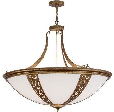 meyda 116829 grayson inverted bowl pendant