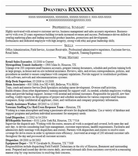 Sales Executive Resume by Retail Sales Executive Resume Sle Executive Resumes