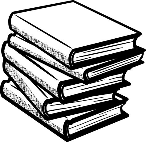 Clipart Books Books Reading Library 183 Free Vector Graphic On Pixabay