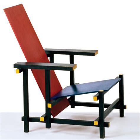 Gerrit Rietveld Stuhl by Gerrit Rietveld Stuhl Blue 187 Rot Blau Stuhl Klassiker
