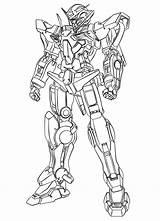 Gundam Coloring Colouring Scheme Trending Days Coloursheet sketch template